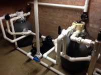 Pond Filter and Pump